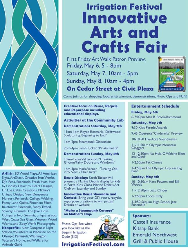 2016 Innovative Arts and Crafts Fair at the Sequim