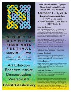 North Olympic Fiber Arts Festival